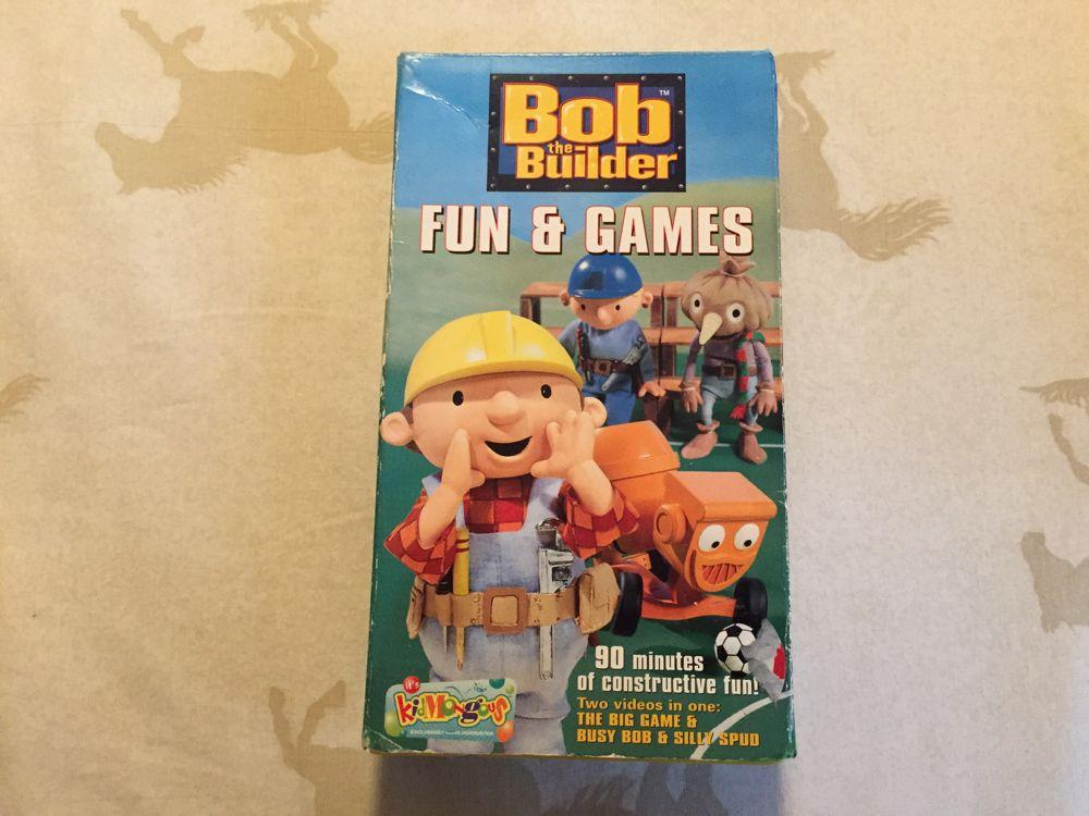 Bob the Builder: Fun & Games (2002 VHS)