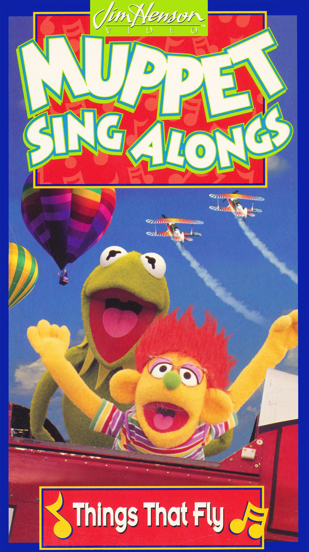 Muppet Sing Alongs: Things That Fly! (1996 VHS)
