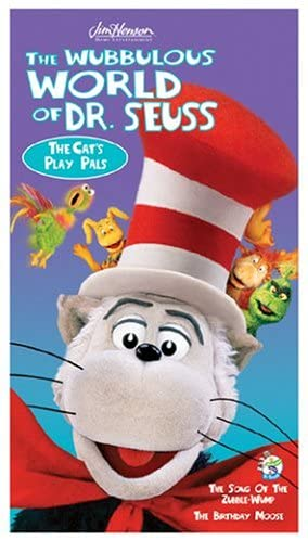The Wubbulous World of Dr. Seuss: The Cat's Play Pals (2005 VHS)