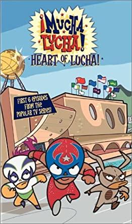 ¡Mucha Lucha!: Heart of Lucha (2003 VHS)