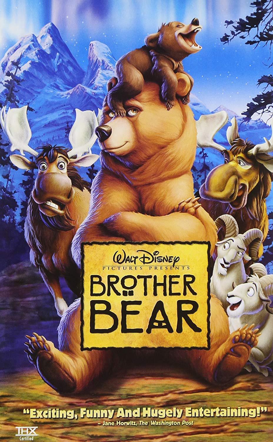 Brother Bear (2004 VHS/DVD)