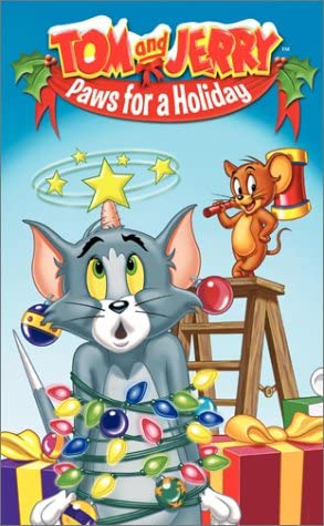 Tom and Jerry: Paws for a Holiday (2003 VHS)