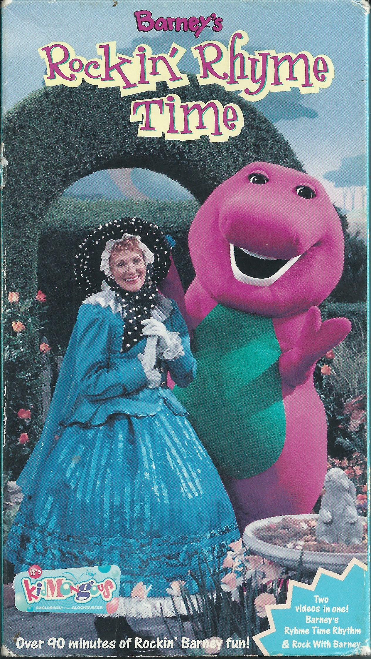 Barney: Barney's Rockin' Rhyme Time (2000 VHS)