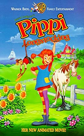 Pippi Longstocking (1997 VHS)