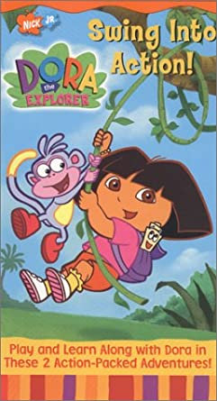 Dora the Explorer: Swing into Action! (2001 VHS)
