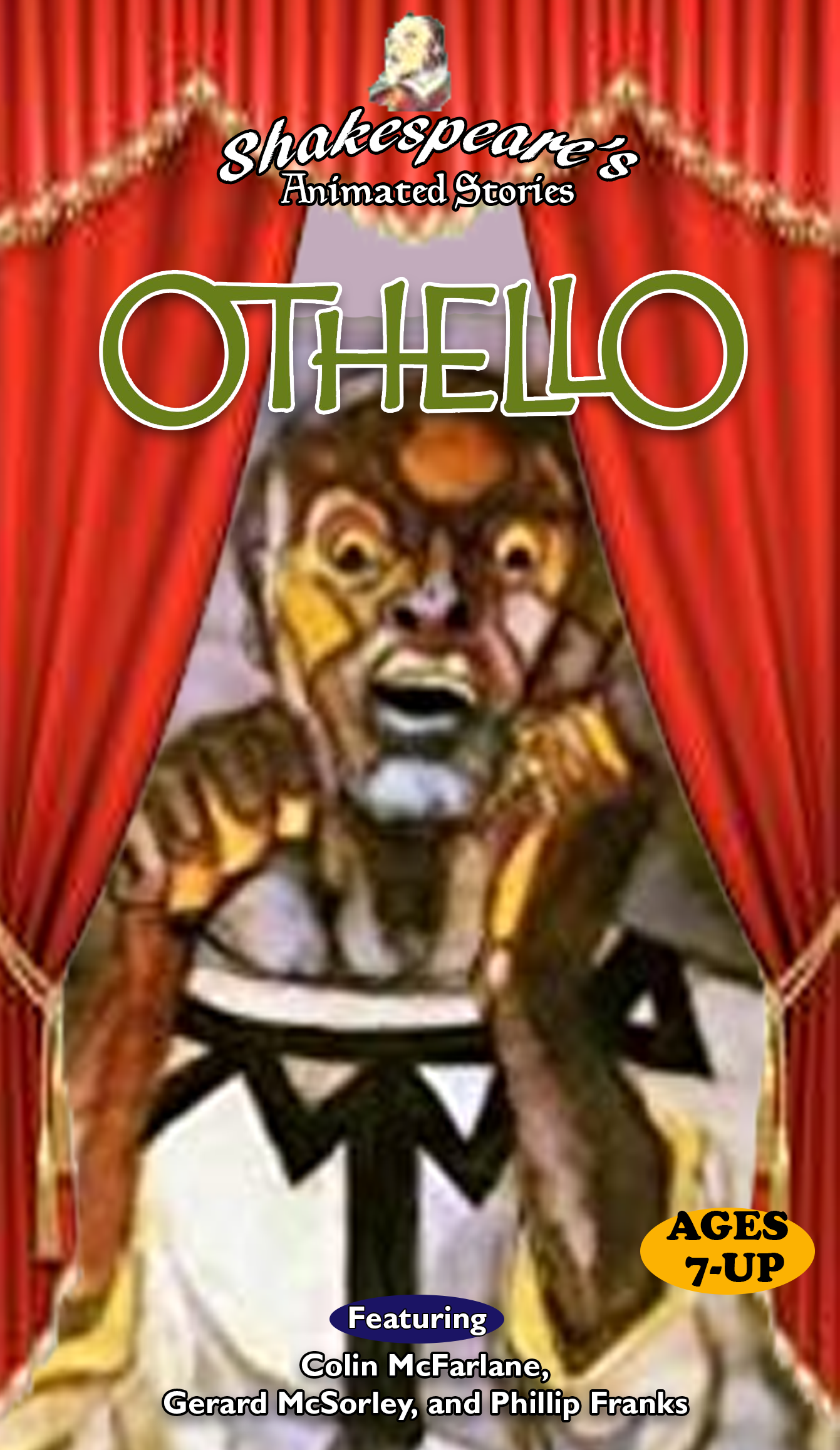 Shakespeare's Animated Stories: Othello (1998 VHS)