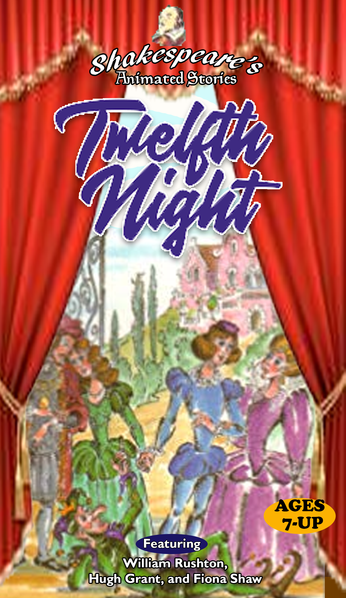 Shakespeare's Animated Stories: Twelfth Night (1997 VHS)