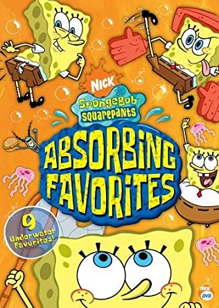 SpongeBob SquarePants: Absorbing Favorites (2005 DVD)