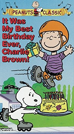 It Was My Best Birthday Ever, Charlie Brown (1997 VHS)