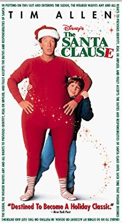 The Santa Clause (1995 VHS)