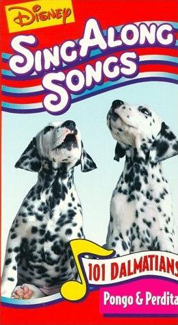 Disney's Sing-Along Songs: Pongo & Perdita (1996 VHS)