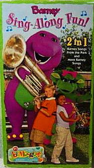 Barney: Sing-Along Fun! (2003 VHS)