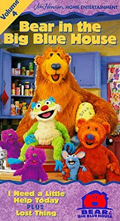 Bear in the Big Blue House: Volume 4 (1998-2000 VHS)