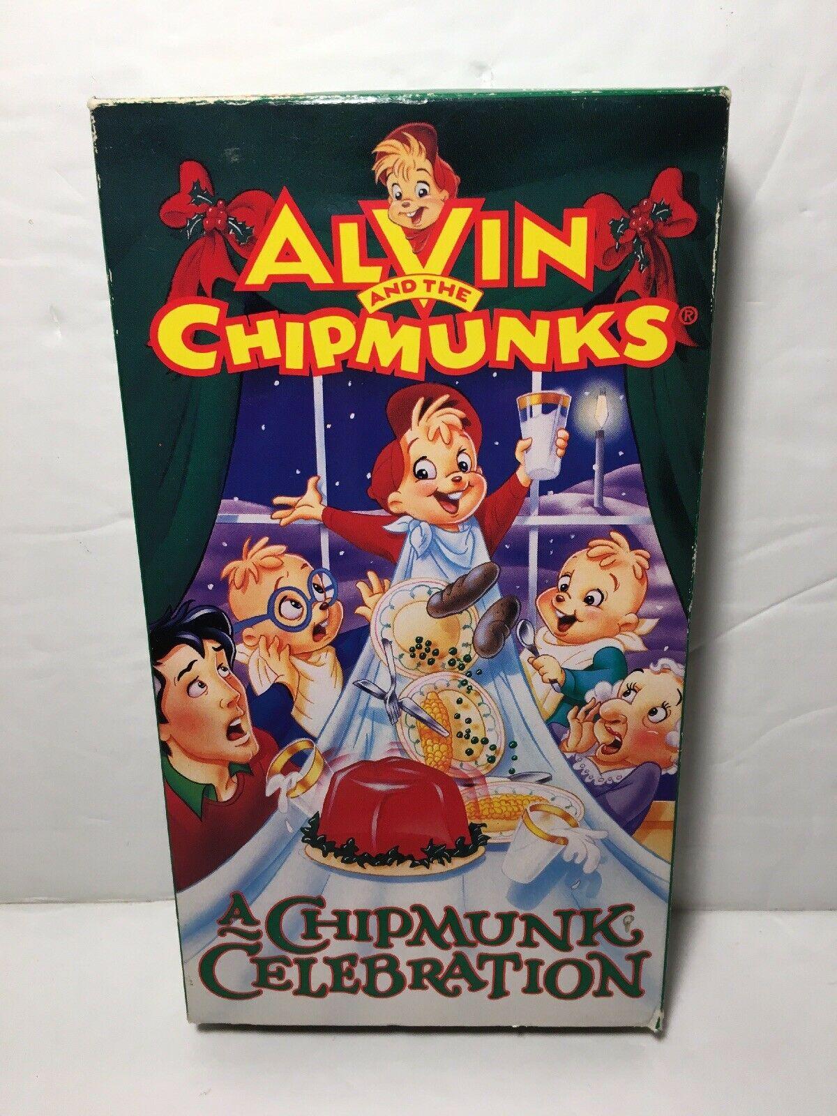 Alvin and the Chipmunks: A Chipmunk Celebration (1995 VHS)