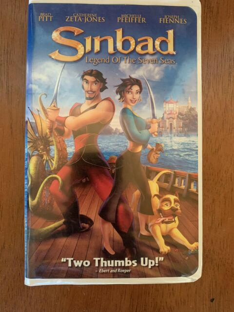 Sinbad: Legend of the Seven Seas (2003 VHS)