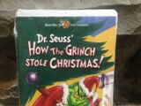 How the Grinch Stole Christmas (1999-2001 VHS)