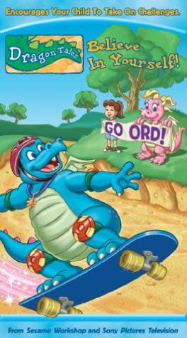 Dragon Tales: Believe in Yourself (2004 VHS)