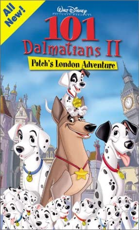 101 Dalmatians II: Patch's London Adventure (2003 VHS)