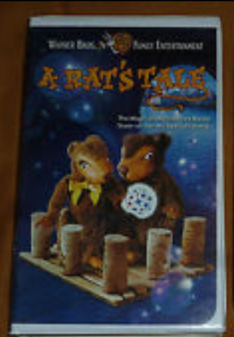 A Rat's Tale (1998 VHS)