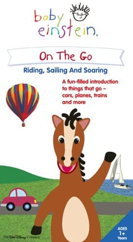 Baby Einstein: On The Go Riding, Sailing and Soaring (2005 VHS)