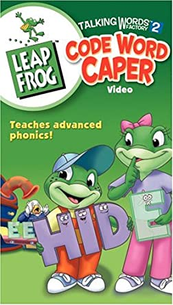 LeapFrog: Talking Words Factory 2: Code World Caper (2004 VHS)