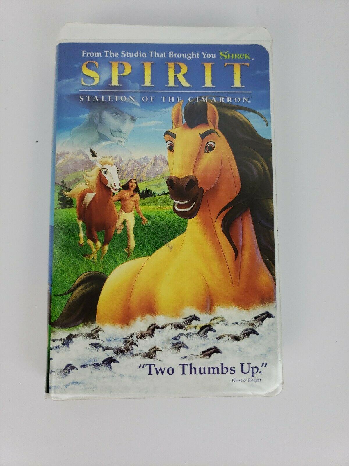 Spirit: Stallion of the Cimarron (2002 VHS)