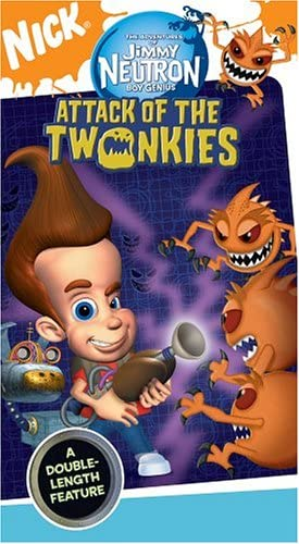 The Adventures of Jimmy Neutron Boy Genius: Attack of the Twonkies (2004 VHS)