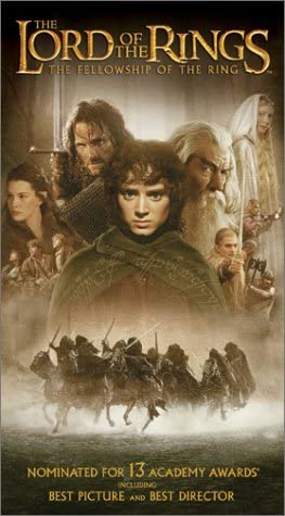 The Lord of the Rings: The Fellowship of the Ring (2002 VHS/DVD)