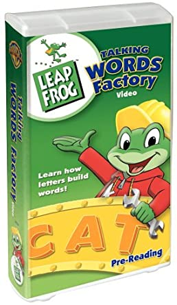 LeapFrog: Talking Words Factory (2003 VHS)