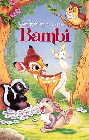 Bambi (1989 VHS)
