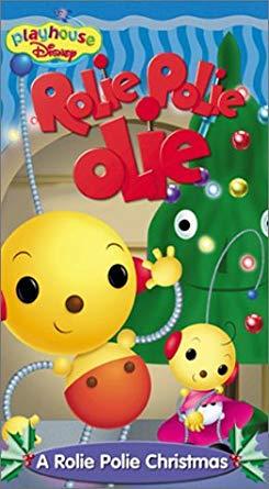 Rolie Polie Olie: A Rolie Polie Christmas (2000-2001 VHS)