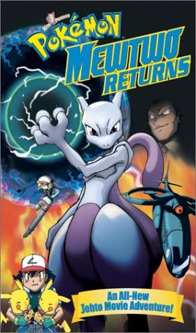 Pokemon Mewtwo Returns (2001 VHS)