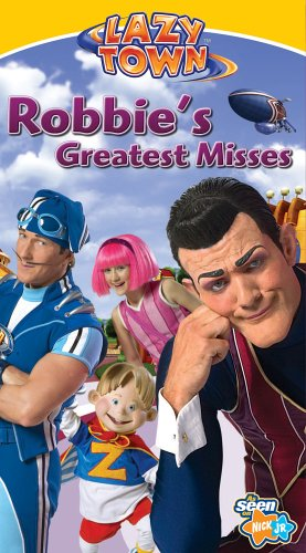 LazyTown: Robbie's Greatest Misses (2006 VHS)