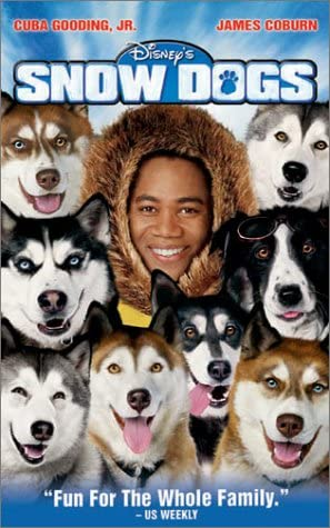 Snow Dogs (2002 VHS)