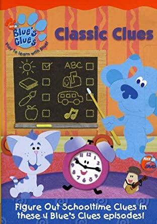 Blue's Clues: Classic Clues (2004 DVD)