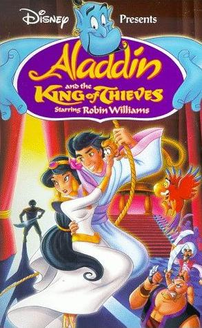 Aladdin and the King of Thieves (1996 VHS)