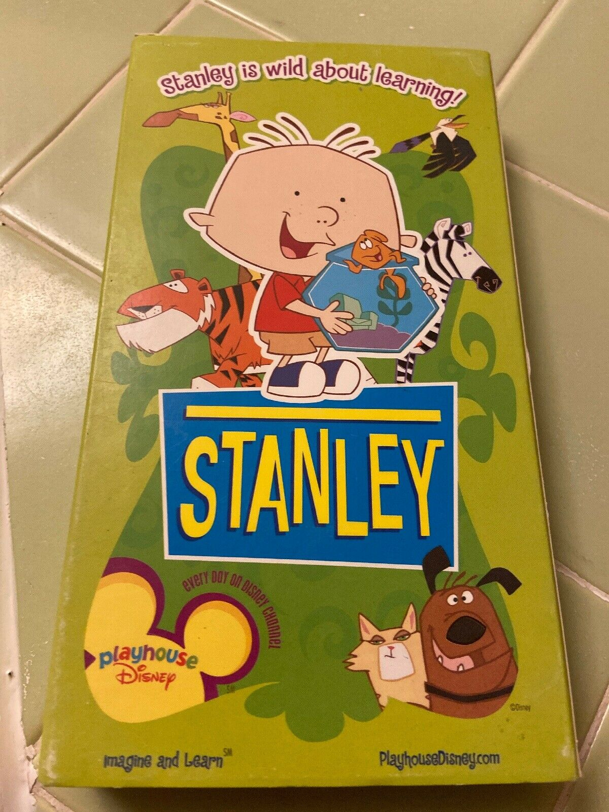 Stanley: Baby Pictures and Up The Apple Tree (2002 VHS)