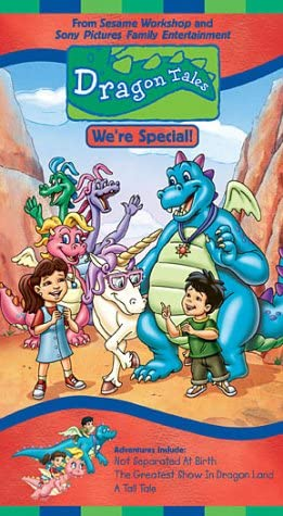 Dragon Tales: We're Special! (2002 VHS)