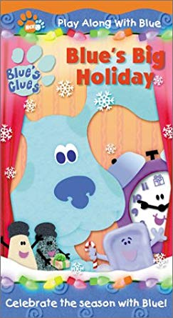 Blue's Clues: Blue's Big Holiday (2001 VHS)