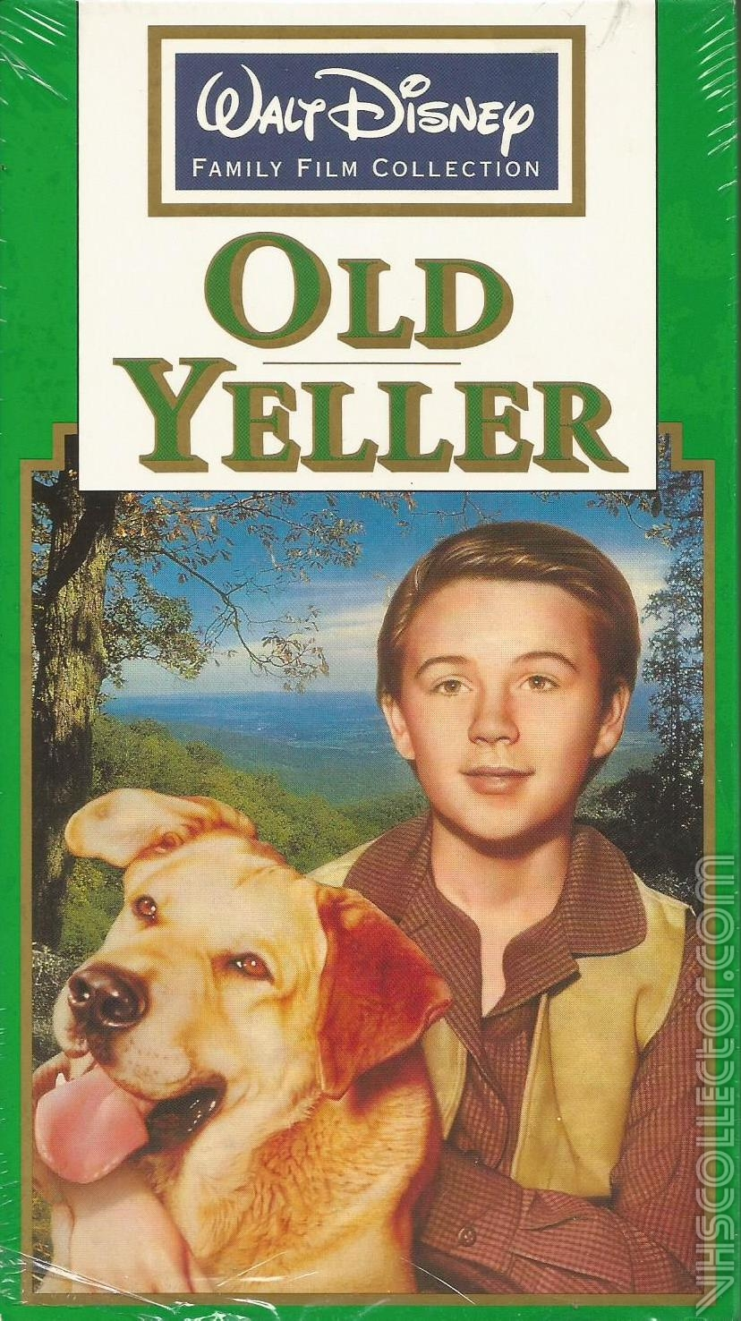 Old Yeller (1991-1996 VHS)