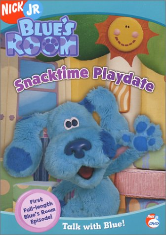 Blue's Room: Snacktime Playdate (2004 DVD)