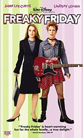 Freaky Friday (2003 DVD/VHS)