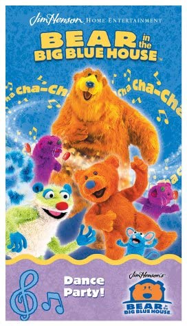 Bear in the Big Blue House: Dance Party! (2002 VHS)