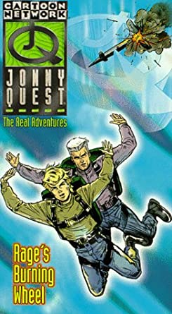 Jonny Quest: The Real Adventures: Rage's Burning Wheel (1996 VHS)