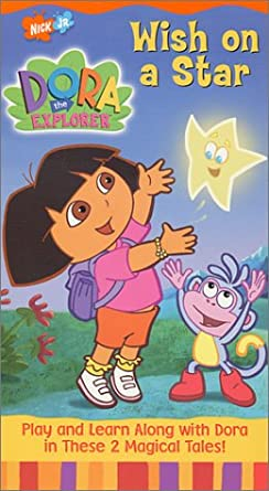 Dora the Explorer: Wish on a Star (2001 VHS)