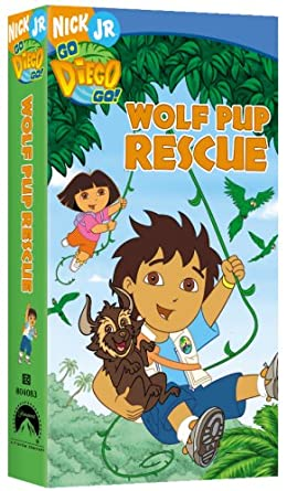 Go, Diego, Go!: Wolf Pup Rescue (2006 VHS)