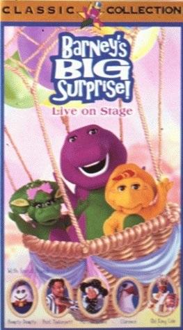 Barney's Big Surprise (1998 VHS)