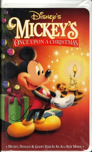 Mickey's Once Upon a Christmas (VHS/DVD)