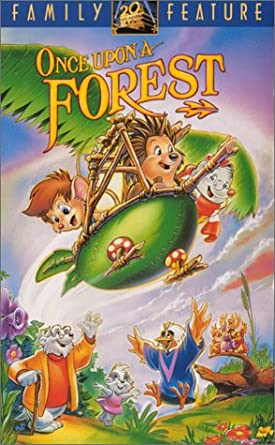 Once Upon a Forest (1993-1996 VHS)