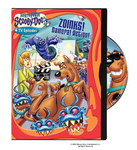 What's New Scooby-Doo?: Volume 8 Zoinks! Camera! Action! (2006 DVD)